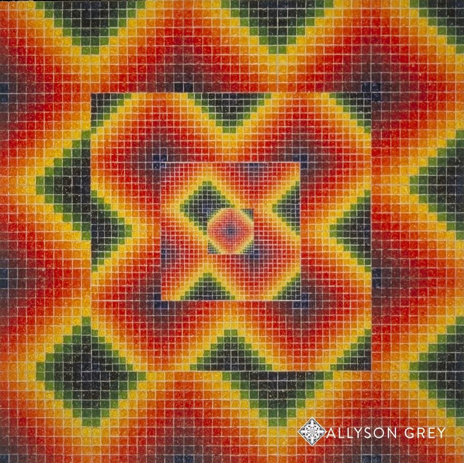 Mandala of 4,000 Squares