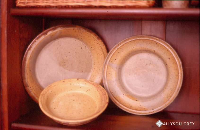 Hand Thrown Pottery (samples)