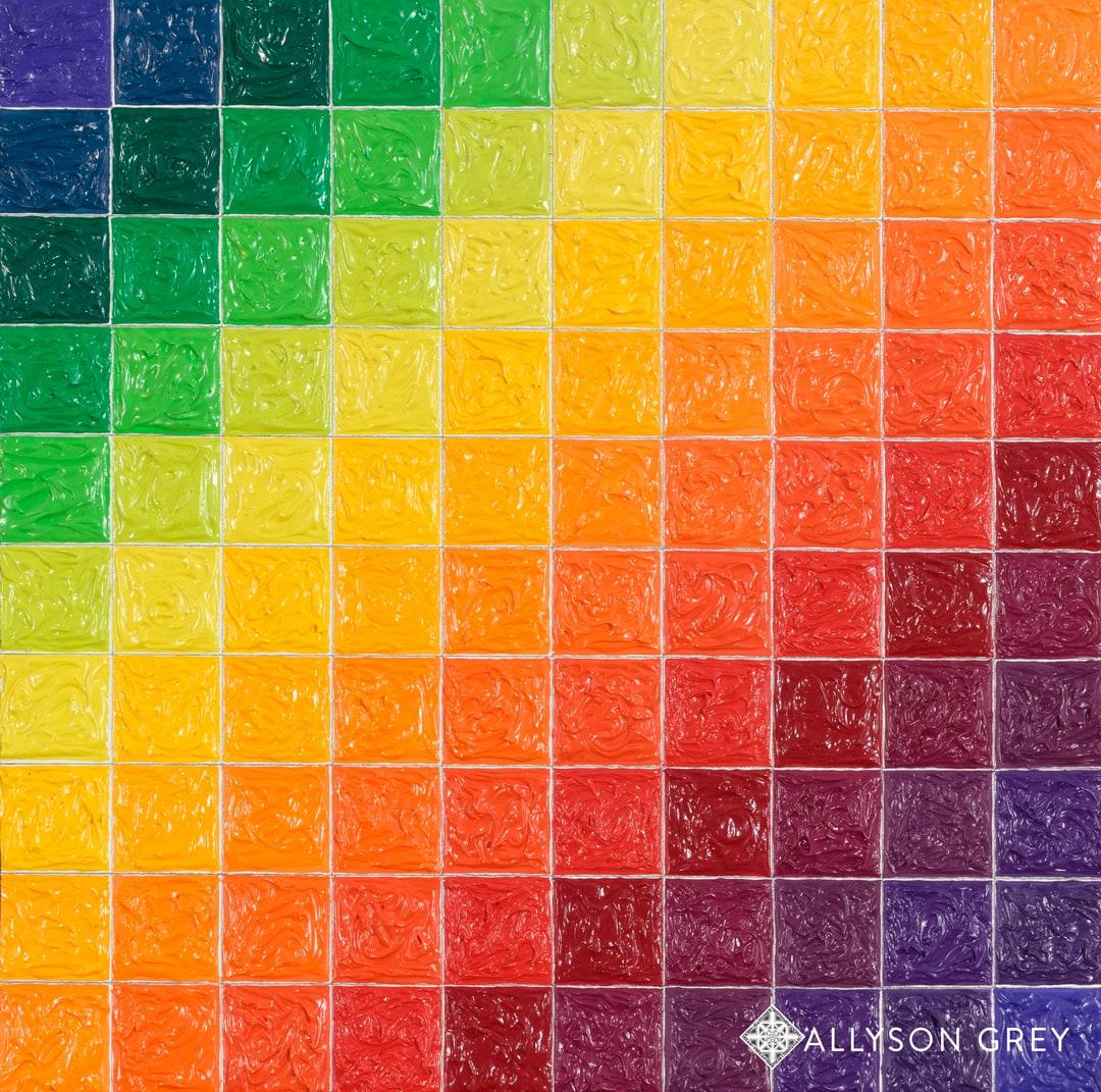 Small Field Quadriptych (Color Spectrum) 2 of 4